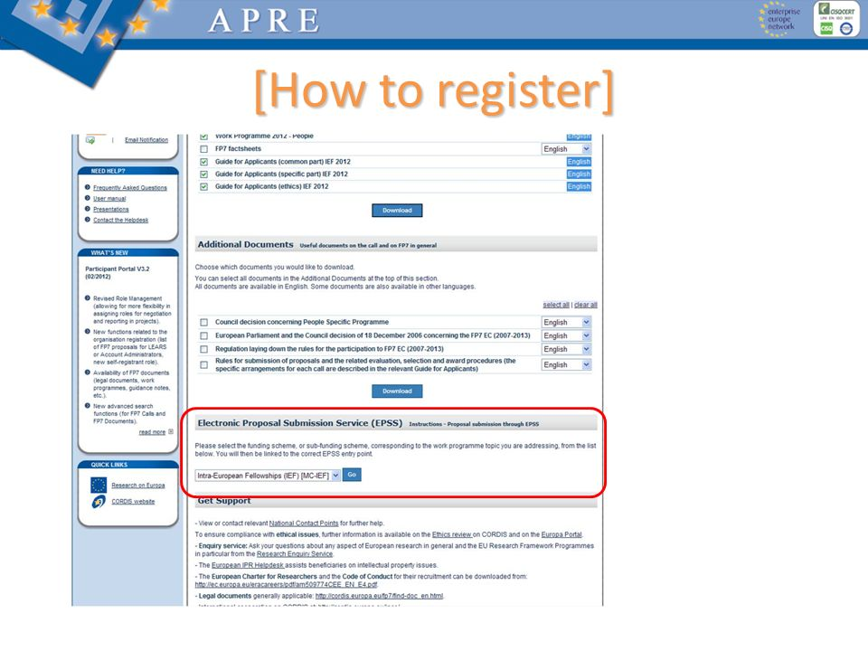 [How to register]